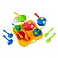 Набор посуды столовый Tigres Ромашка 19 элементов (39146)