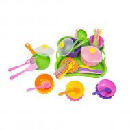 Набор посуды столовый Tigres Ромашка 43 элемента (39149)