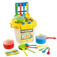 Набор посуды столовый Tigres Ромашка с плитой 25 элементов (39153)