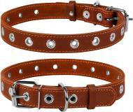 Нашийник Collar безрозмірний 2,5х60 см коричневий