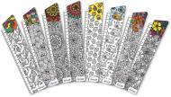 Набір закладинок для книг серія Розмальовки-антистрес 8 шт. BM-4698 Бумагія
