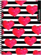 Блокнот ST.Valentine: Серця А5 80 арк. клітинка E21951-01 Фабрика Папірус