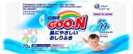 Дитячі вологі серветки Goon для чутливої шкіри 70 шт.