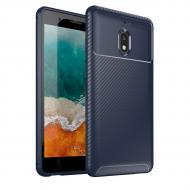 Чехол Carbon Case Nokia 2.1 Синий (hub_cJFN88716)