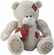 М'яка іграшка Ведмедик із серцем 40 см JS2126B