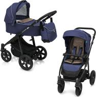 Коляска універсальна 2 в 1 Baby Design Design Lupo Comfort New 03 Navy