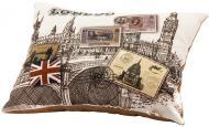 Подушка декоративна 40x50 см коричневий
