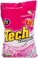 Пральний порошок для машинного прання Tech Compact Romantic Floral 2,25 кг