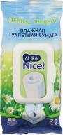 Туалетний папір вологий Aura Nice вологий одношаровий 72 шт.