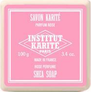 Мыло органическое Institut Karite Роза 907165-IK 100 г 1 шт./уп.