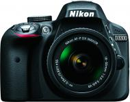 Фотоапарат Nikon D3300 + AF-P 18-55VR Kit