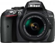 Фотоапарат Nikon D5300 + AF-P 18-55VR Kit black