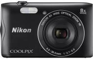 Фотоапарат Nikon Coolpix A300 black
