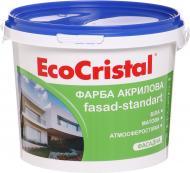 Фарба акрилова водоемульсійна EcoCristal ІР-131 мат білий 3л