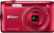 Фотоапарат Nikon Coolpix A300 red
