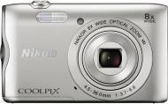 Фотоапарат Nikon Coolpix A300 silver