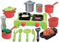 Ігровий набір посуду Ecoiffier Плита і посуд 2649