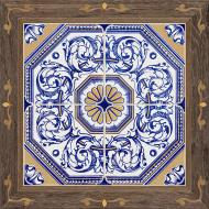 Плитка Golden Tile Valencia мікс 1АБ870 40x40