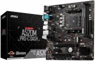 Материнська плата MSI A520M PRO-C DASH (Socket AM4, AMD A520, mirco ATX)