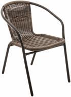 Крісло UP! (Underprice) HYC-1311R 73x51x61 см коричневий