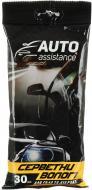 Серветки вологі для скла та дзеркал Auto Assistance 30 шт.