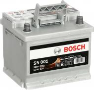 Акумулятор автомобільний Bosch 6СТ-52 Н S5001 52А 12 B «+» праворуч