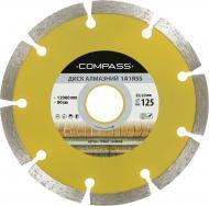 Диск алмазний відрізний Compass 1A1RSS 125x2,0x22,2 граніт , мармур , бетон