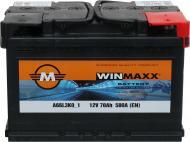 Акумулятор автомобільний Monbat Winmaxx A66L3W0_1 70А 12 B «+» праворуч