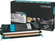 Картридж Lexmark Cyan C5342CX блакитний