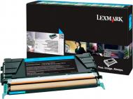 Картридж Lexmark Cyan C748H3CG блакитний