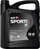 Моторне мастило Elf Sporti 9 5W-40 5 л (208440)