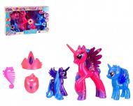 Игрушка пони со звуковыми эффектами Metr+ MLY-012 розовый