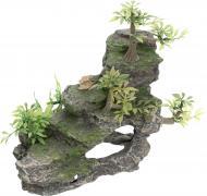 Декорація TRIXIE Скеля з рослинами 19х9,5х14 см 8852