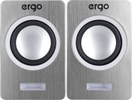 Акустична система Ergo S-2049 2.0 silver