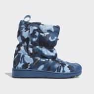 Черевики Adidas SST WINT3R CF C EE7260 р. 32 блакитний