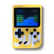 Приставка SEGA 8bit SUP Game Box 400 игр Желтая (SMT1326)