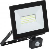 Прожектор з датчиком руху IEK СДО 06-50Д LED 50 Вт IP54 чорний