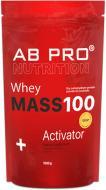 Гейнер MASS 100+ Whey Activator AB PRO Полуниця 1 кг