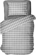 Комплект постельного белья Клетка серая 1,5 UP! (Underprice)