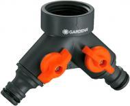 Розподільник 2-канальний Gardena 0938-20