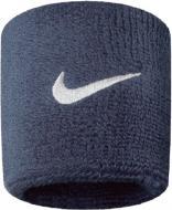 Напульсник Nike р. one size Swoosh Wristbands N.NN.04.416.OS темно-синий