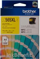 Картридж Brother MFC-J2310/J3520 XL yellow LC565XLY yellow