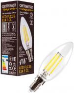 Лампа світлодіодна Светкомплект Vintage Fil C35 4 Вт E14 4500 К 220 В прозора