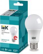 Лампа світлодіодна IEK ECO 11 Вт A60 матова E27 220 В 4000 К