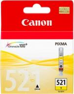 Картридж Canon  CLI-521Y 2936B004 жовтий 2936B004