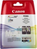 Набір картриджів Canon  PG-510Bk/CL-511 Multi-Pack 2970B010 багатокольоровий 2970B010