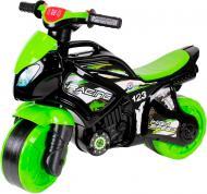 Веломобіль ТехноК Каталка-мотоцикл Технок черно-салатовий 4823037605774