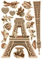 Декоративна наліпка Париж