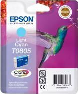 Картридж Epson  T0805 Light Cyan new C13T08054011 світло-блакитний C13T08054011