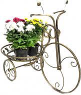 Підставка Ferrum Decor Велосипед 1 великий 85x65 см золотий
